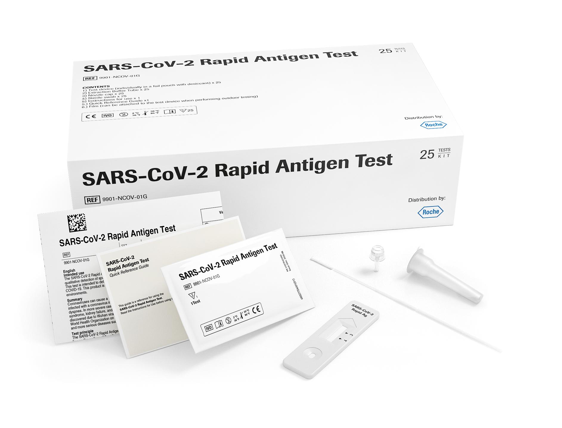 SARSコロナウイルス抗原検査キット